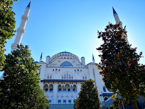 Friday Blessing (Camlica mosque Istanbul) (1)