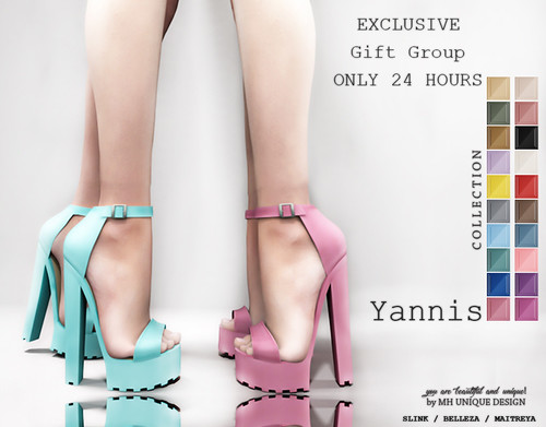 MH-Yannis Sandals Collection