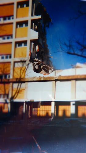42 St-ETIENNE La Marandiniere demolition de l allee 4, 6 & 8 du square Auguste RENOIR