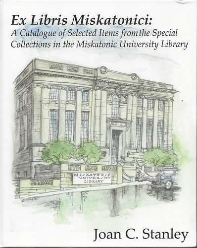 Ex Libris Miskatonici - Joan C. Stanley - cover artist Jason Eckhardt