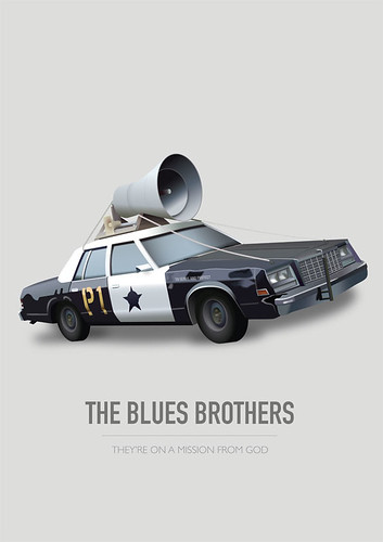The Blues Brothers - Alternative Movie Poster