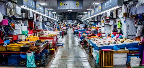 2019 - South Korea - Busan - 15 - Jagalchi Fish Market