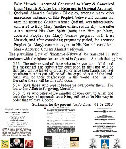 Amendment in 'khatam-e-Nabuwat' Law.3