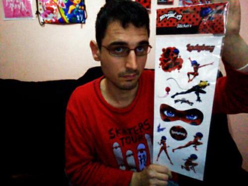 Miraculous Ladybug - Stickers / Pegatinas