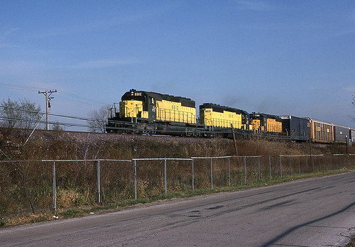 Trio of SD's on the B-Train