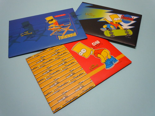 The Simpson Bart Letter Sets