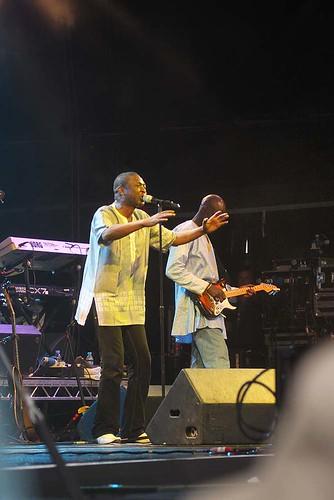 WOMAD UK09 Youssou N'Dour (Senegal)