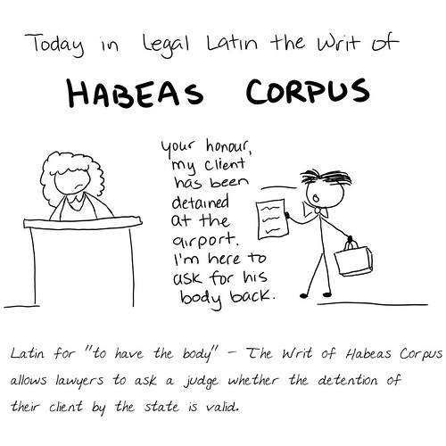 This is literally all that habeas corpus is about.                           http://prison-diaries.com/courthouse-battles/you-have-the-body/