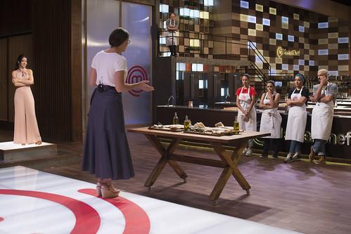 Episódio 19 (04/08): Haila, Lorena, Juliana N. e Rodrigo deverão preparar uma receita com um ingrediente muito querido dos brasileiros, o bacalhau.