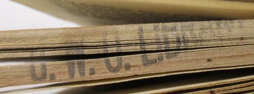 Penn Libraries PR3415 .D8 1725: Stamp -- inked