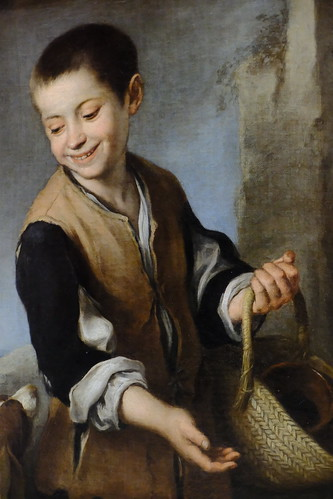XE3F8450 - Niño con un perro - Boy with a Dog - Мальчик с собакой (Murillo, 1655-60)