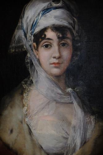 XE3F8448 - Retrato de la actriz Antonia Zárate – Portrait of the actress Antonia Zárate - Портрет актрисы Антонии Cарате (Goya, 1810)