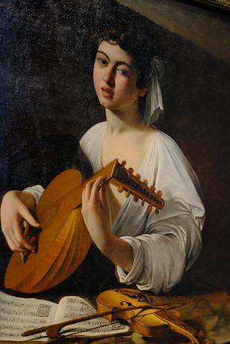 XE3F8441 - El tocador de laúd - The Lute Player – Лютнист (Caravaggio, 1595)