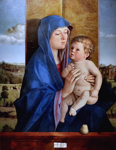 IMG_4278 Giovanni Bellini 1430-1516 Venise  La Madonna di Alzano  Bergamo Accademia Carrara