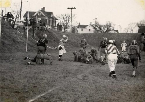 Turkey Day Game At Salisbury w/Cambridge, circa 1950s