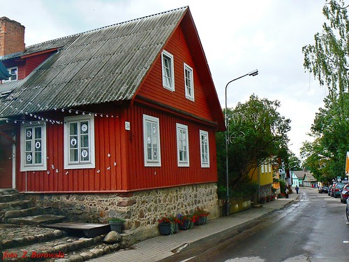 Trakai - Karaim street