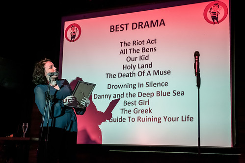 Best Drama nominees at the Greater Manchester Fringe awards and closing party 2019