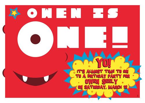 Owen Is One!
