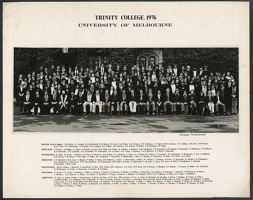 Trinity College, 1976