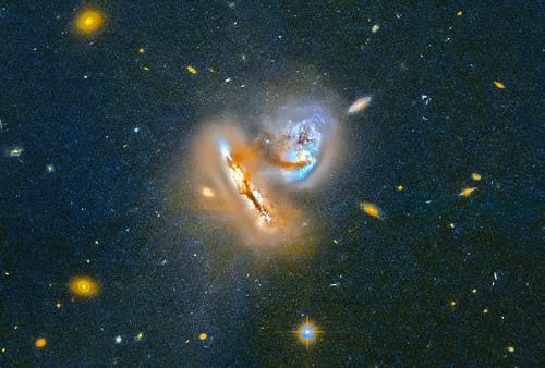 Interacting Galaxies, variant