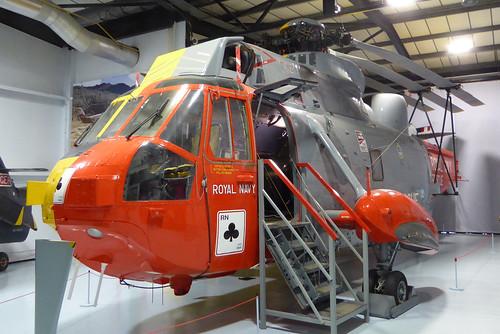 XV663 Westland Sea King HAS6 cn WA651 Royal Navy RNAS Yeovilton 14Jul19