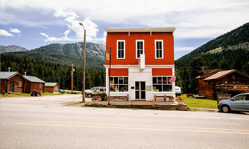 The Old Cooke City General Store