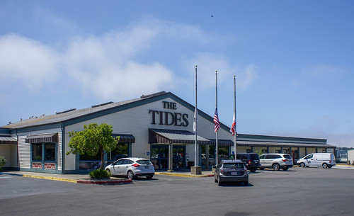Bodega Bay, CA - Tides Wharf and Restaurant - used in The Birds