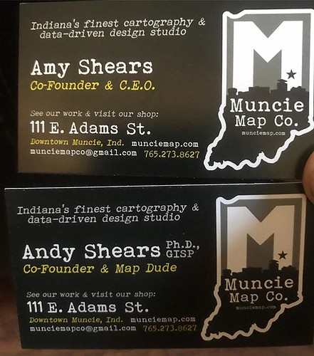 FINALLY managed to get new business cards in, and wouldn't you know it someone got a promotion! Well, not exactly a promotion as much as a title that better explains what she does so we can avoid confusion. Oh yes, besides being the incredibly skilled pho
