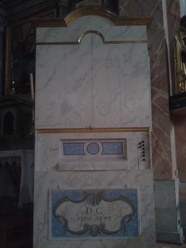 Orgue Chalmin dans l'église de Viuz en Sallaz