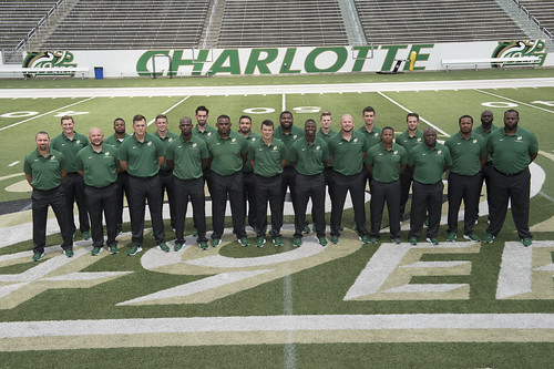 The coaching staff
