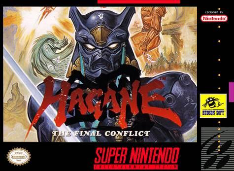 Hagane - The Final Conflict supernes