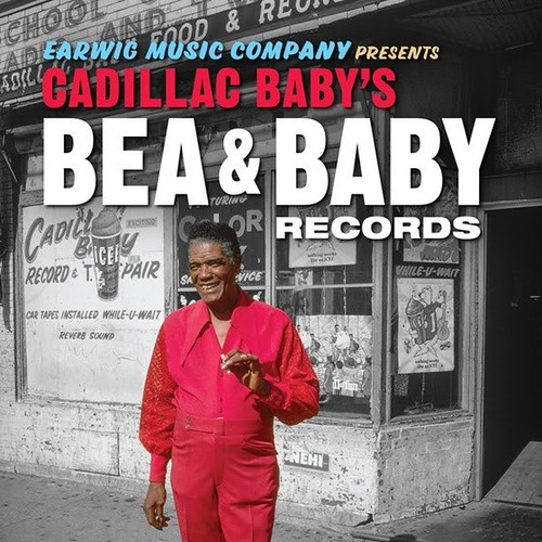 Cadillac Baby's Bea & Baby Records: The Definitive Collection! This 101-track 4-CD set features early tracks from such blues titans as James Cotton, Hound Dog Taylor, Sleepy John Estes, Earl Hooker, Andre Williams, and Sunnyland Slim #ChicagoBlues #BeaBab