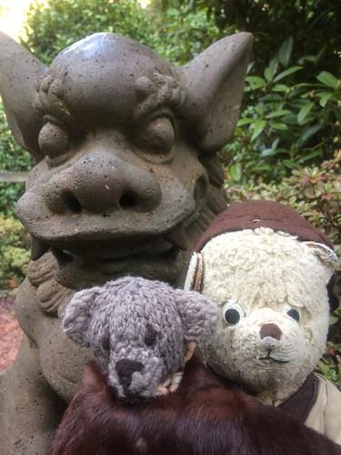 Paddington in Danger in the Japanese Gardens