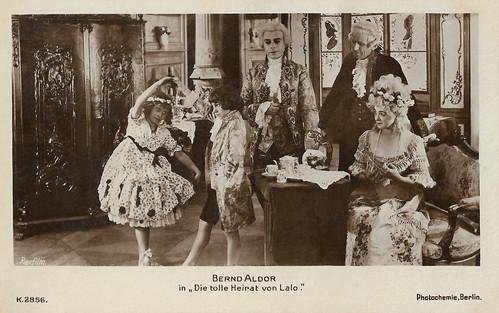 Bernd Aldor in Die tolle Heirat von Laló (1918)