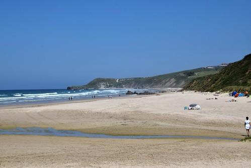 Playa de Merón (San Vicente de la Barquera, Cantabria, España, 16-6-2019)