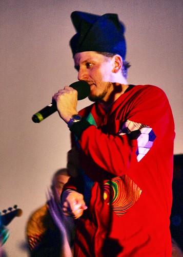 The talented Pule - singer, rapper and storyteller