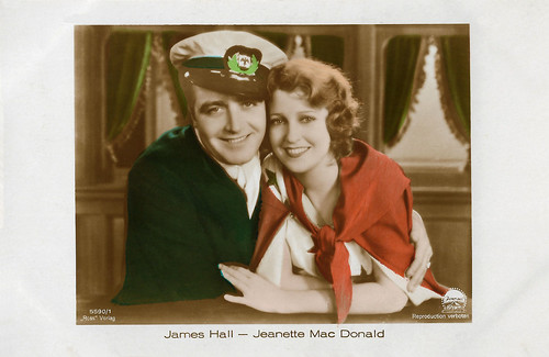 James Hall and Jeanette MacDonald in Let's Go Native (1930)