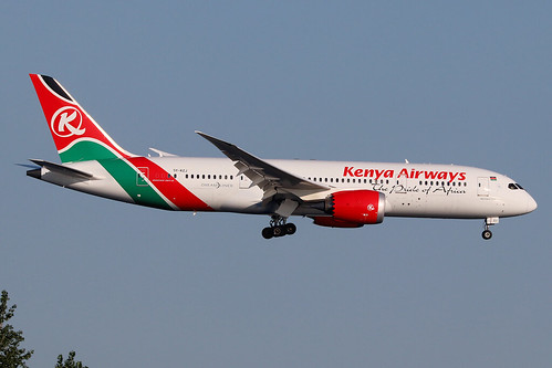 5Y-KZJ | Boeing 787-8 Dreamliner | Kenya Airways