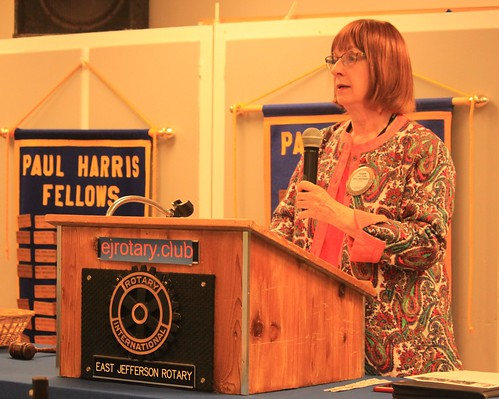 IMG_1163 CE1 - Chimacum WA - The Rotary Club of East Jefferson County - Meeting of August 8th, 2019 - Karen Griffith - Local Grant Awards