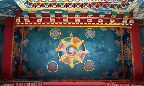 The Old Monastery and the ambiance : Borong, South Sikkim, Eastern Himalaya, India - XX