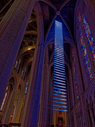 Ladder of Light - Grace Cathedral - San Francisco