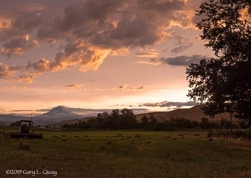 Mount Hood From Dufur, Oregon