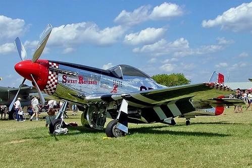 N68JR   (NL68JR / 422051) North American P-51D Mustang [122-31910] Oshkosh-Wittman Regional~N 30/07/2008