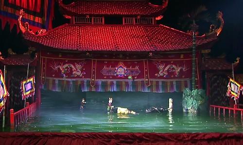 Vietnam - Hanoi - Thang Long - Water Puppet Theatre - 14