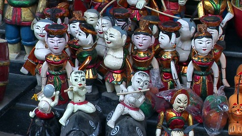 Vietnam - Hanoi - Thang Long - Water Puppet Theatre - 12