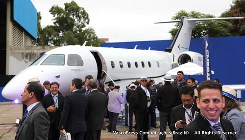 Embraer leva jatos executivos Praetor 500 e Praetor 600 pela primeira vez à LABACE - IMG_9080