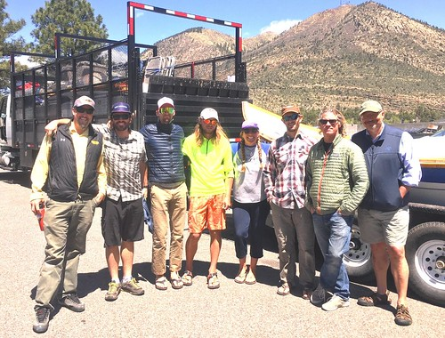 Our raft Guides at Diamond Creek Take Out - Grand Canyon