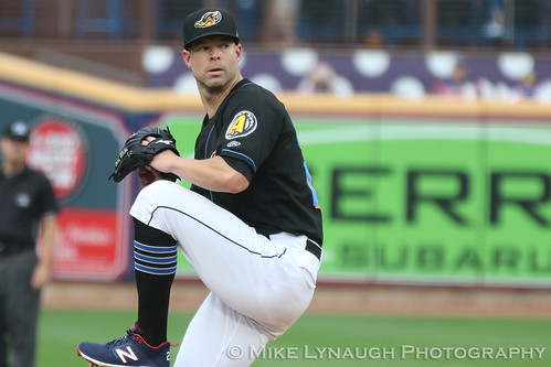 Corey Kluber Rehab Assignment with the Akron Rubber Ducks - August 13, 2019