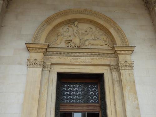 Fitzwilliam Museum - Trumpington Street, Cambridge - main entrance door