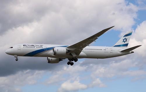 4X-EDE Boeing 787-9 Dreamliner El Al